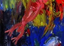 Jepenseavec des mots,Des sons,desnuages, Des livres et desbabioles - Maria Lund Gallery