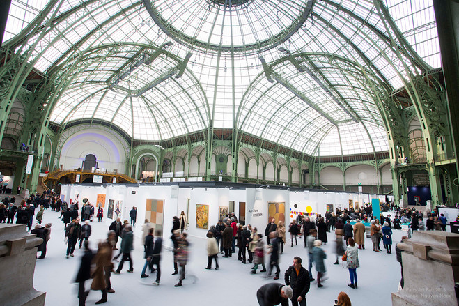 Art Paris 2017 - Grand Palais – La nef