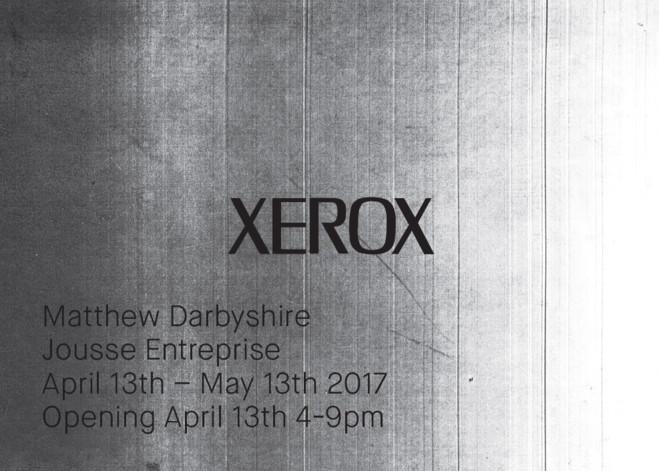 XEROX - Jousse Entreprise — Art contemporain