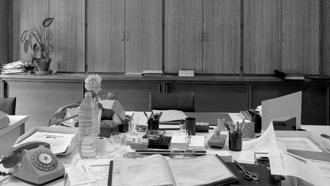 Rencontre autour de Bureaux de Christian Milovanoff - Le Crédac