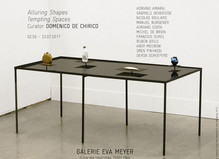 Alluring shapes, tempting spaces - Galerie Eva Meyer