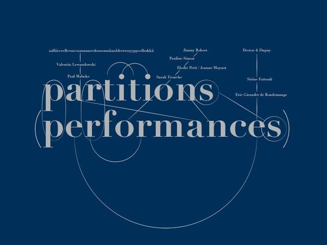 Partitions (Performances) / Jeune Création 2017 - Fondation d'entreprise Ricard