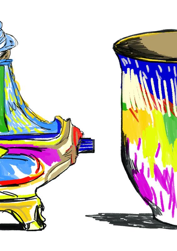 Un dimanche tout en couleur - Sèvres — Cité de la céramique