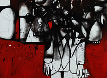 George Condo - Almine Rech Gallery