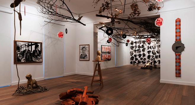 Barthélémy Toguo - Galerie Lelong & Co