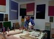 Guillaume moschini dans son atelier 2017 galerie oniris 1 grid