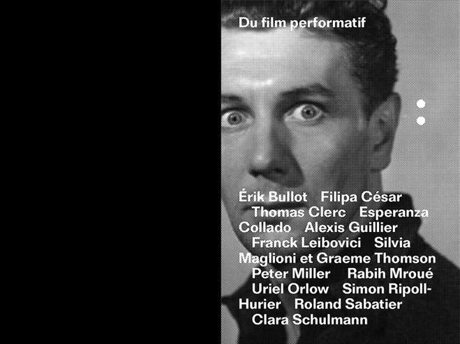 Du film performatif - Les Laboratoires d'Aubervilliers