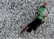 Galerie dutko actio reaction pippo lionni peinture performance 1 grid