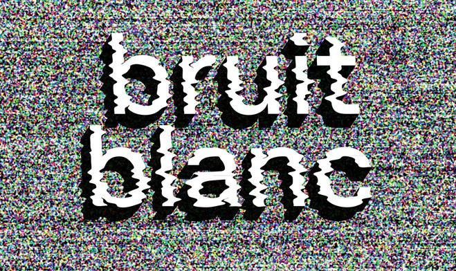 Bruit Blanc - Topographie de l'art