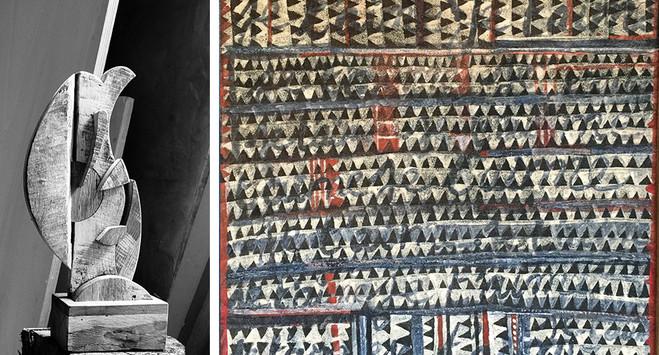 Rencontre: Philippe Anthonioz & Afi Nayo - Galerie Dutko Bonaparte