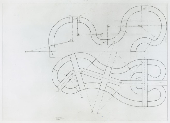 Richard Deacon - École nationale des Beaux Arts de Paris — Cabinet des dessins