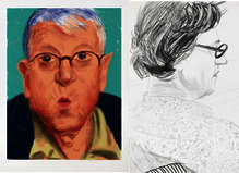 David Hockney - Lelong & Co. Matignon Gallery