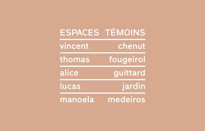 Espaces Témoins - Praz-Delavallade Gallery