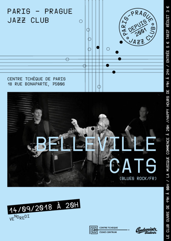 Belleville cats - Centre culturel tchèque