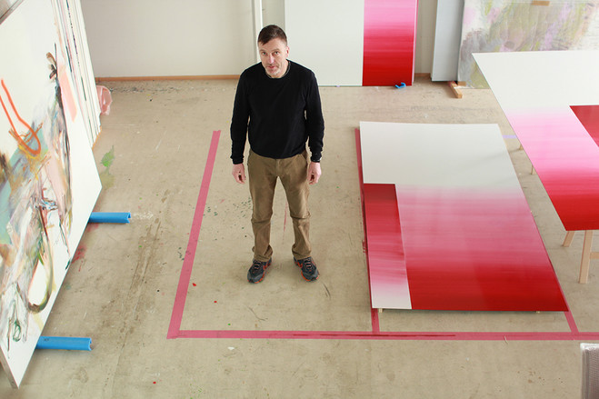 Albert Oehlen - Max  Hetzler Gallery