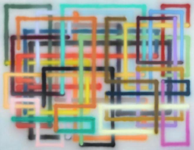 Bernard Frize - Centre Georges Pompidou