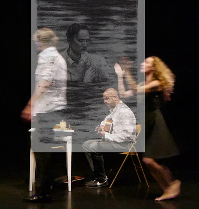 Performance danse-musique - Galerie Maria Lund