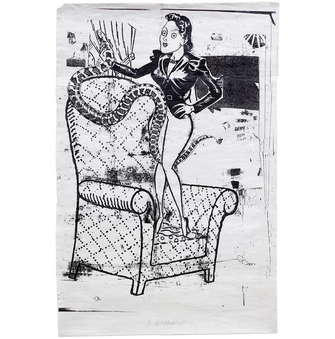 Steve Gianakos, documentation celine duval, Hippolyte Hentgen, Dorothy Iannone, Françoise Pétrovitch, Nancy Spero - Galerie Semiose