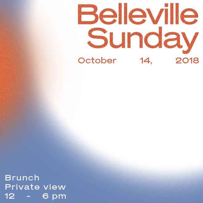 Belleville Sunday / Talk Jean-François Boclé & Jaider Orsini - Maëlle Galerie