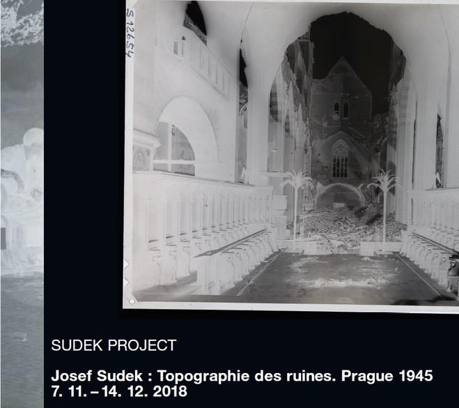 Josef Sudek : Topographie des ruines. Prague 1945 - Centre culturel tchèque