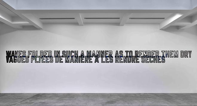 Lawrence Weiner - Galerie Marian Goodman