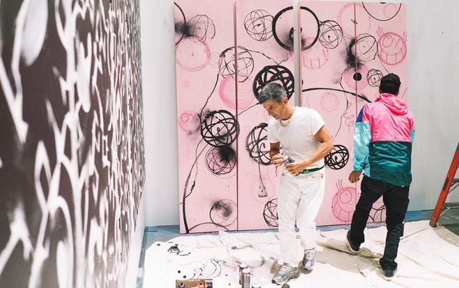 Futura X André - Magda Danysz Gallery