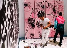 Futura X André - Galerie Magda Danysz