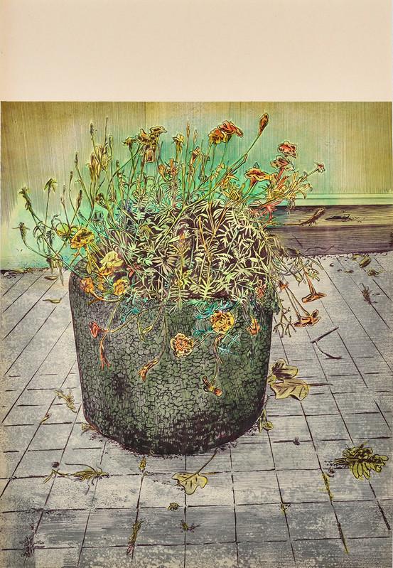 Des fleurs pour Valentin - Galerie Catherine Putman