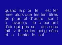 Dominique Petitgand—Les gens assis par terre - Fondation d'entreprise Ricard