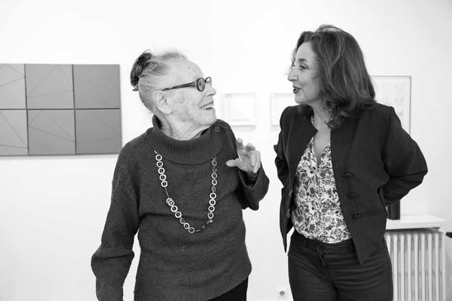 Rencontre avec Vincent Baby, spécialiste de l'œuvre de Vera Molnar - Galerie Berthet – Aittouarès
