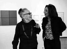 Rencontre avec Vincent Baby, spécialiste de l'œuvre de Vera Molnar - Berthet – Aittouarès Gallery