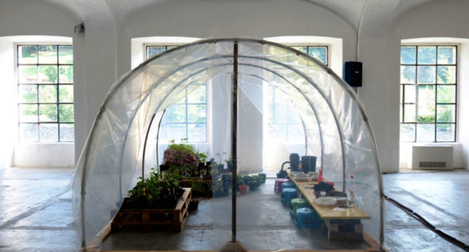 Leone Contini, Maria Laet, Kate Newby - Institut d'art contemporain de Villeurbanne