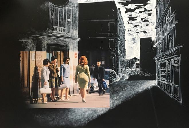 Didier Naert et Alexandre Trauner - Galerie Berthet – Aittouarès