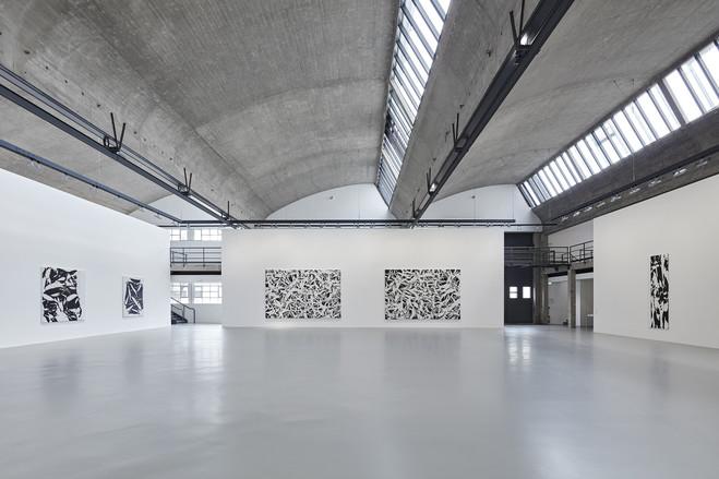 Les noirs du blanc, les blancs du noir - Galerie Gagosian, Le Bourget