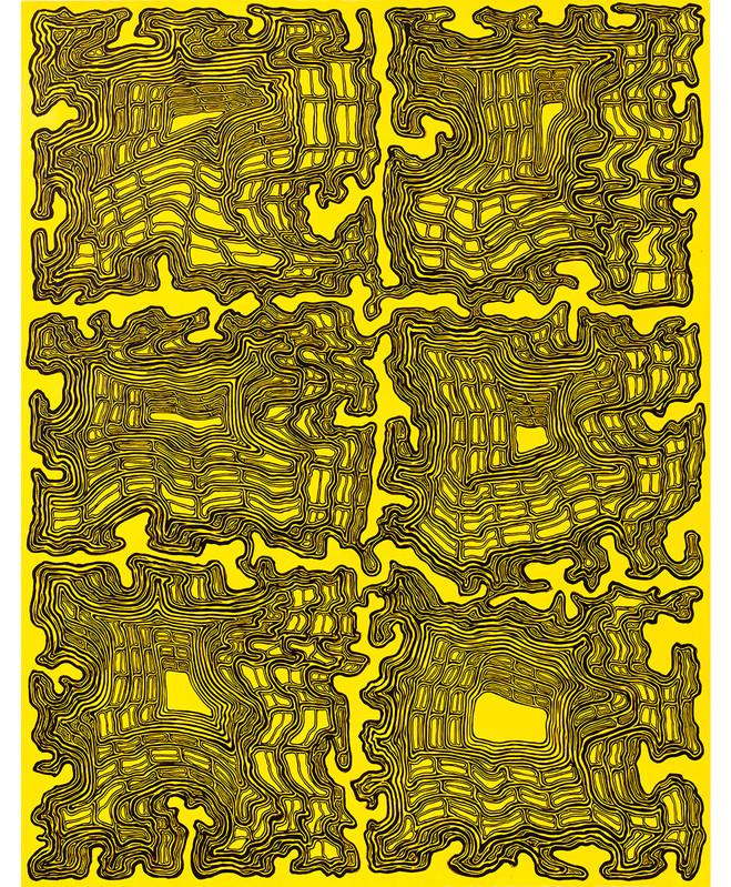 James Siena - Xippas Gallery