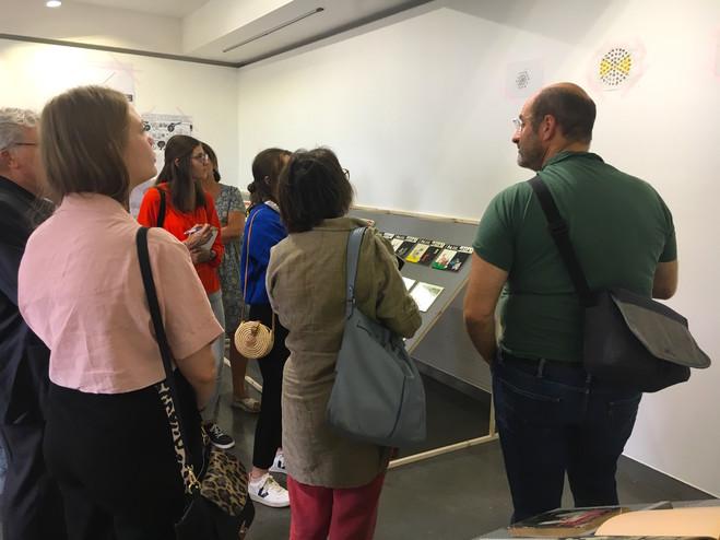 Café découverte—exposition Etienne au carré -  La  Maison d'Art Bernard Anthonioz