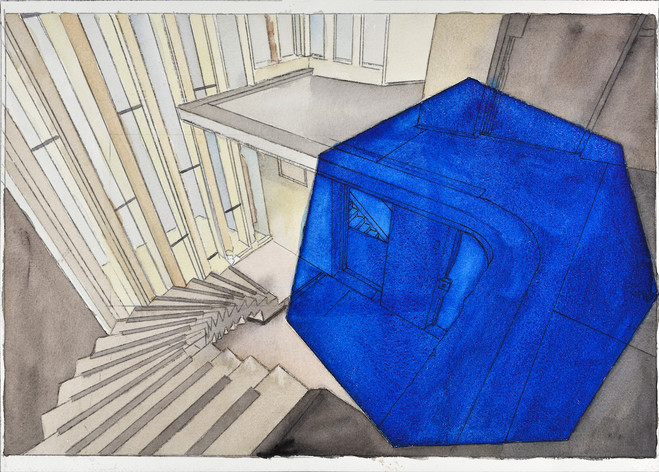 Georges Rousse - Catherine Putman Gallery