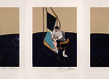 Three studies of the male back triptych francis bacon slash paris 1 original 1 grid