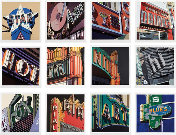 Robert cottingham american signs portfolio slash paris 1 large2