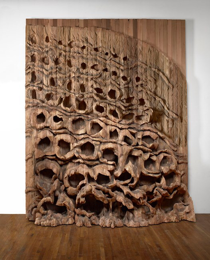 Ursula von rydingsvard oziksien 2016 slash paris 1 large2
