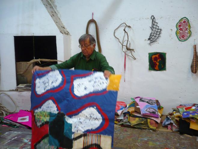 Claude Viallat - Oniris — Rennes Gallery