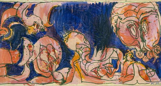 Pierre Alechinsky et Karel Appel - Lelong & Co Gallery