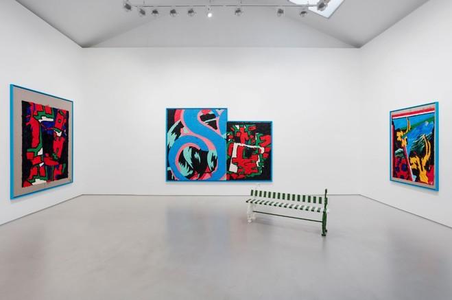 Ida Ekblad - Max  Hetzler Gallery