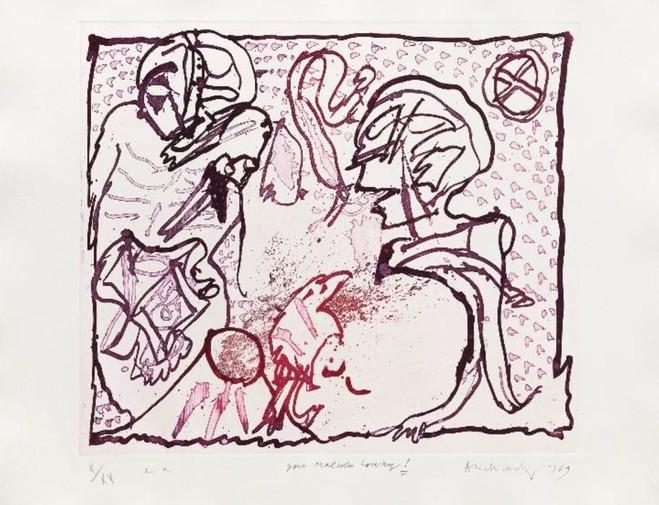 Pierre Alechinsky - Lelong & Co Gallery
