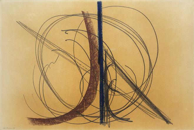 Hans Hartung - Galerie Berthet – Aittouarès
