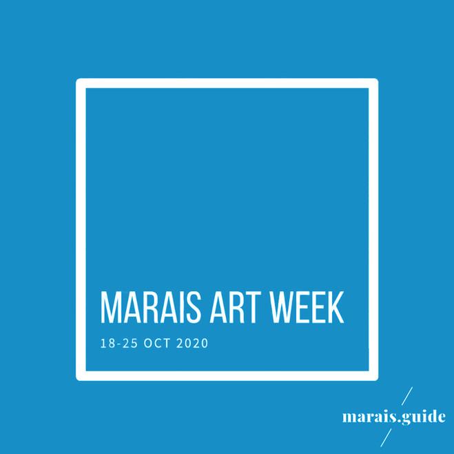 MARAIS ART WEEK