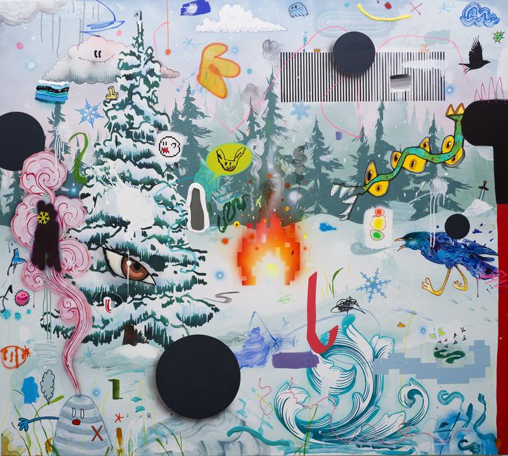 Dbrault winter solstice 2019 acrylique sur toile de lin 137 16x152 4cmhd 1 large2