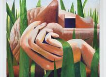 Laurent Proux—Soft Grass - Semiose Gallery