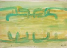Jean Messagier - Catherine Putman Gallery