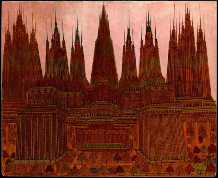 Galerie loevenbruck marcel storr artiste cathedrale dessin paris exposition 13 1 large2